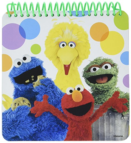 Sesame Street Notepad by Amscan