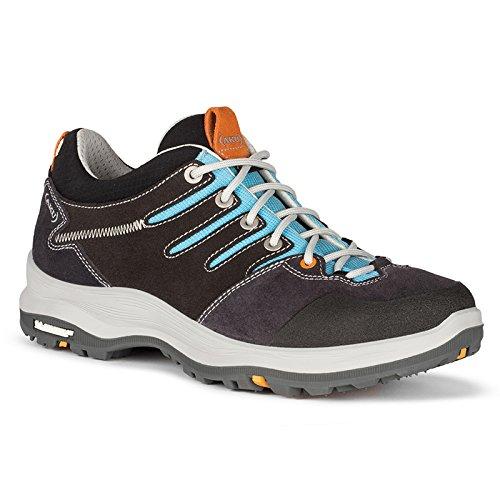 AKU Montera Low GTX Gore-Tex Chaussures Femme Taille EU 38UK 5USA 7, Dark Grey/Light Blue