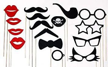 Amazon diy do it yourself mustache on a stick wedding party diy do it yourself mustache on a stick wedding party photo booth props includes lips solutioingenieria Image collections
