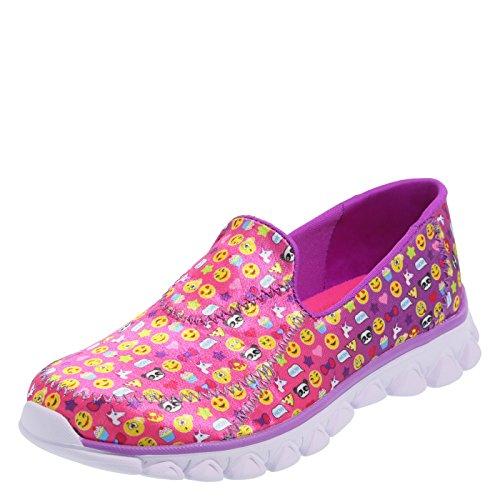 Zoe and Zac Pink Girls' Kimmie Slip-On Shoe 2.5 Regular]()
