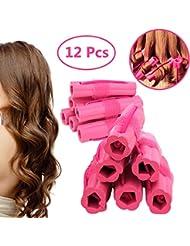 Hair Rollers Curlers, Foam Sponge Hair Curlers, Pillow...