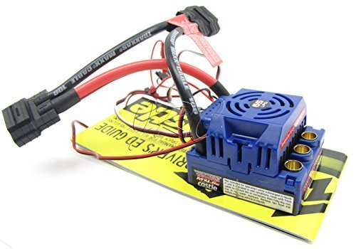 E-MAXX Brushless ESC (Waterproof Mamba MXL-6S Monster Castle e-revo Traxxas 3908