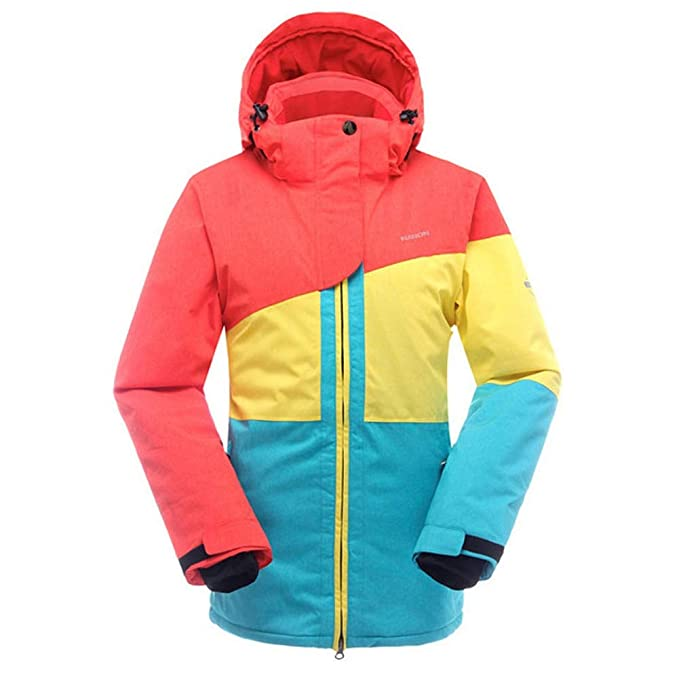 SAENSHING Mujer Impermeable Chaqueta de Esquí Deportes de ...