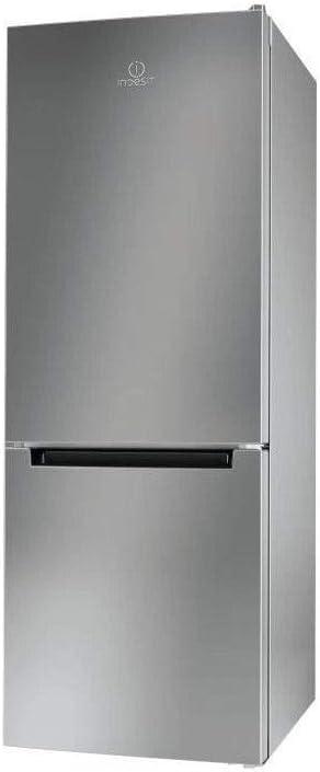 Indesit - Lr6 s1 s – frigorífico congelador inferior 271l silver ...