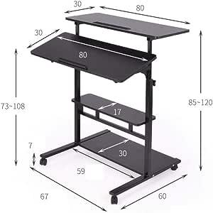 Mesa de escritura de núcleo hueco Soporte de escritorio ajustable ...