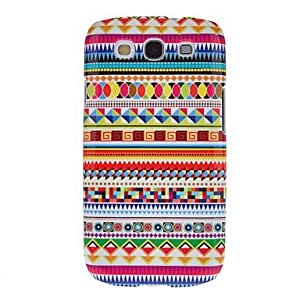 CeeMart Colorful Dense Graphic Pattern Protective Hard Back Cover Case for Samsung Galaxy S3 I9300 by ruishername