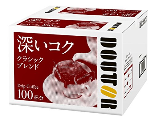 Doutor Coffee drip coffee classic blend 100P by Doutor Coffee