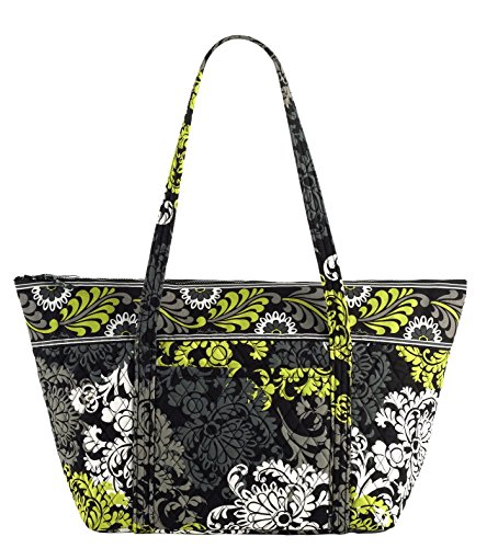 Baroque Bag (Vera Bradley Miller Bag (Baroque with Solid Black Interior))