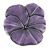 Danforth Pansy / Purple Pewter Brooch Pin