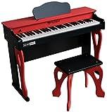 Schoenhut My First Piano Tutor, Red/Black, One Size