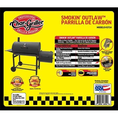 Amazon.com : Smokin Outlaw Charcoal Grill, Rotisserie and ...