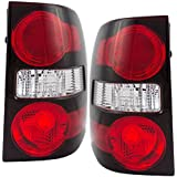 Driver and Passenger Taillights Tail Lamps Replacement for Ford SUV 6L2Z13405CA 6L2Z13404CA