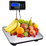 440lbs 3 Unit Digital Postal Shipping Floor Bench Scale Platform