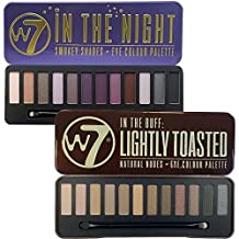 W7 In The Buff Lightly Toasted & In The Night Eye Shadow Palette