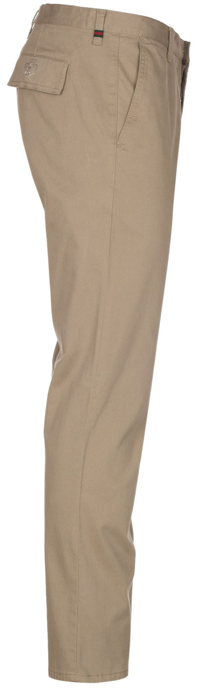 Gucci Men's Softened Stretch Cotton Short Chino Casual Pants, Beige, 28 by Gucci (Image #5)