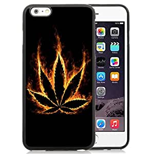 New Personalized Custom Designed For iPhone 6 Plus 5.5 Inch Phone Case For Burning Maple Leaf Phone Case Cover wangjiang maoyi
