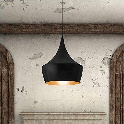 Zuo Modern 98247 Copper Ceiling Lamp, Matte Black