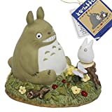 Studio Ghibli My Neighbor Totoro Ceramic Music Box (Scene / Staring Contest)