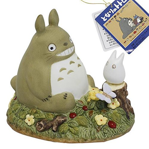 Studio Ghibli My Neighbor Totoro Ceramic Music Box (Scene / Staring Contest) by HAMEE