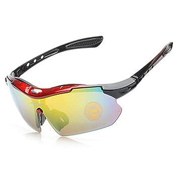 HCMONSTER Gafas de Esqui Profesional Ciclismo Gafas polarizadas Deportes al Aire Libre Pesca Bicicleta Gafas de