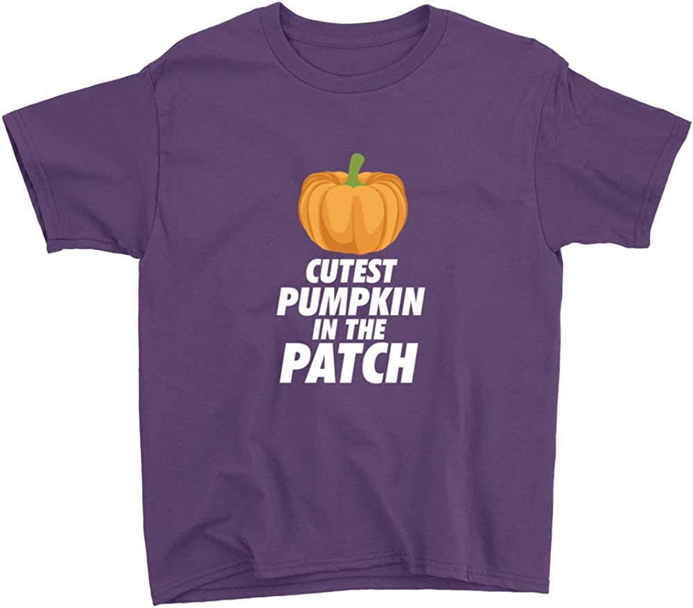 Cutest Pumpkin in The Patch Youth T-Shirt