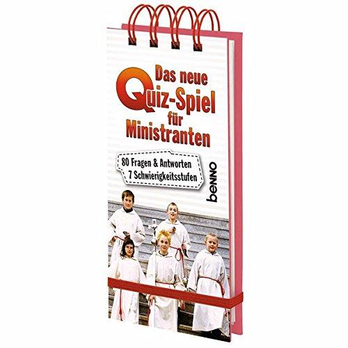 Das neue Quiz-Spiel für Ministranten: 80 Fragen & Antworten, 7 Schwierigkeitsstufen