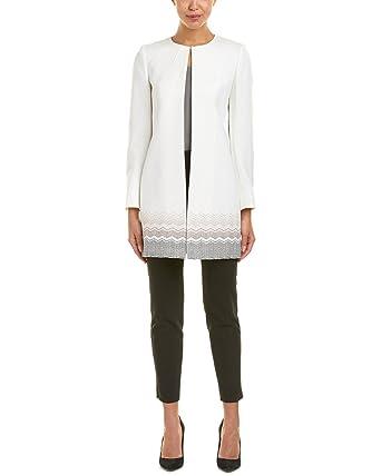 3189b30d3822a Tahari ASL Long Topper Jacket 6 at Amazon Women s Clothing store