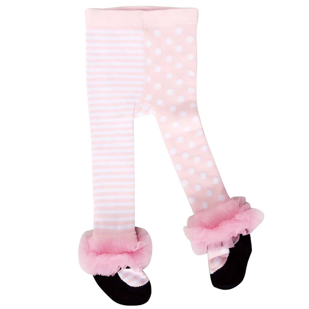 Baby Girls Tights Infant Toddler Cotton Legging Pants Stockings Pink Vine Trading Co. Ltd D170302LKW001V