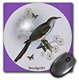 SmudgeArt Bird Art Designs - Cuckoo - MousePad (mp_7227_1)