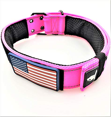 DOG COLLARS K9 HARNESS TACTICAL MILITARY STYLE - 2