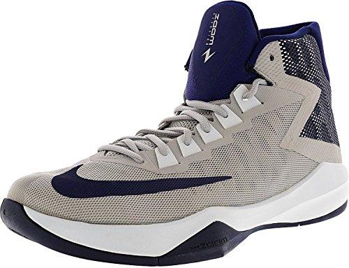 Nike Hommes Zoom Dévosion Basket-ball Chaussure Loup Gris / Loyal Bleu / Jeu Royal