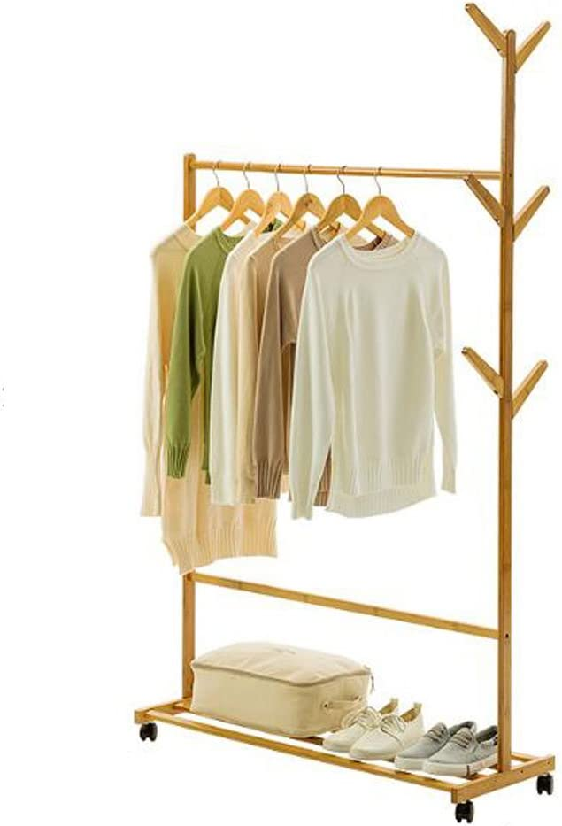 Color : Ivory white Hat Coat Stand Hanger Coat Rack Bag Holder Shelf Clothes Hang Corner Stand Floorstanding Bedroom Household 180cm