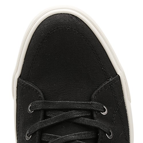 Jack & Jones Herren Anthracite JFWDunmore Leinwand Sneakers Anthracite