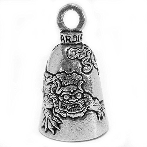 - Guardian® Chinese Imperial Guard Lion Foo Dog Shi Motorcycle Biker Luck Gremlin Riding Bell or Key Ring Tall Size