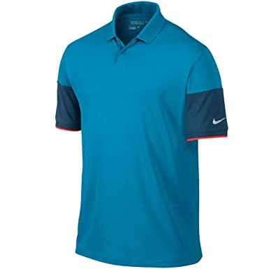 Nike Major Moment Commander Golf Polo 2015 CLOSEOUT LT Laca azul ...