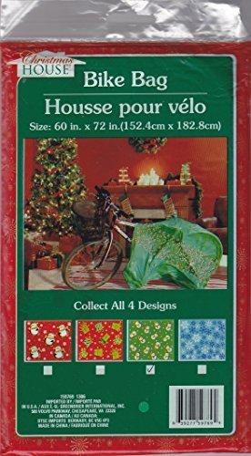 Bicycle (Bike) Christmas Gift Bag - Assorted (Qty 1) 60 x 72 -