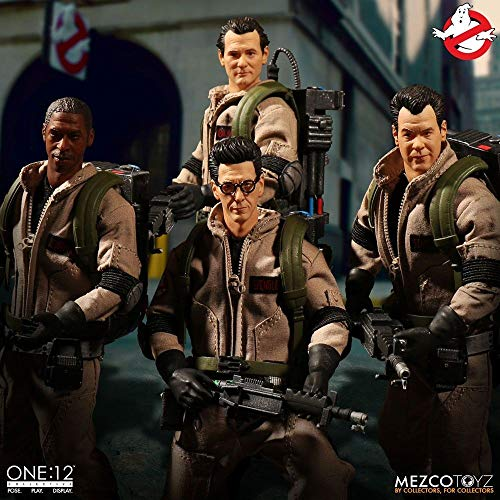 Mezco One: 12 Collective: Ghostbusters Deluxe Action Figure Box Set ()