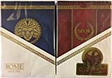 ROME: Antony & Caesar 2 Deck Set Playing Cards Poker Size LPCC Gilded Edition