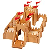 Holztiger Figures Wood Castle with Drawbridge