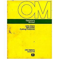 OM-H96974 Used John Deere 200 Series Cutting Platf