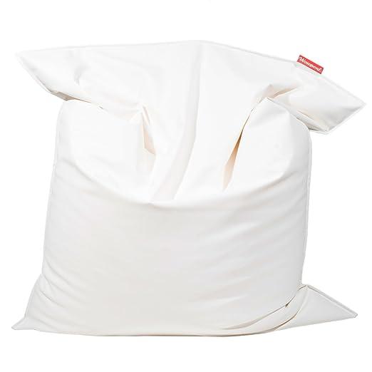WowPouf Cojin Puff Gigante - Blanco: Amazon.es: Hogar