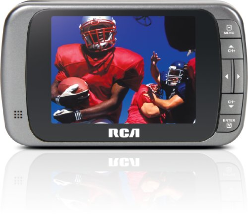 - RCA DHT235A 3.5-Inch LED-lit 720p 60Hz TV (Silver)