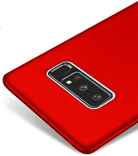 Vooway Rojo/Red Ultra-Delgado Funda Case Cover para Samsung Galaxy Note8 / Galaxy Note 8 MS70438: Amazon.es: Electrónica