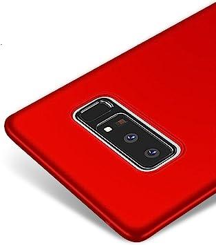 Vooway Rojo/Red Ultra-Delgado Funda Case Cover para Samsung Galaxy ...