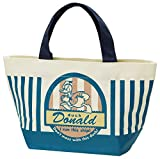 Canvas lunch tote bag Badge collection Donald Duck Disney