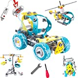 Gili Engineering STEM Building Toys for Kids Age 6-10, Construction Motorized Building Sets for 7, 8, and 9 Year Old Boys & Girls, Educational Robotic Kit Gifts