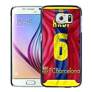 Xavi 1 Black Samsung Galaxy S6 Phone Case Luxurious and Fashion Look