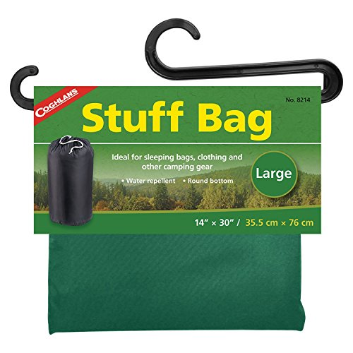 Stuff Bag Coghlans (Coghlans Stuff Bag sleeping bag pouch (Design: 35 x 76 cm))