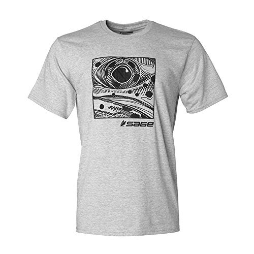 Sage Fly Fishing Fish Eye Trout T-Shirt