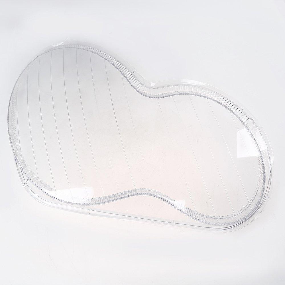 Possbay Lichtscheibe Scheinwerfer Abdeckung Transparent Glä ser Links&Rechts Seite
